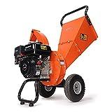 EFCUT C30 LITE Wood Chipper Shredder, 7 HP 212cc Gasoline Engine, 3' Max Wood Diameter, 2-Year Warranty After Product Registration