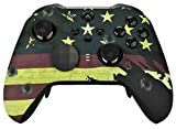 UN-MODDED Custom Controller Compatible with Xbox ONE Elite Series 2 (American Flag)