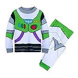 Disney Buzz Lightyear Costume PJ PALS for Boys Size 5 Multi