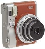 Fujifilm Instax Mini 90 Instant Film Camera (Brown) (Renewed)