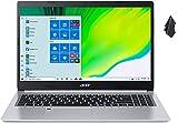 2021 Newest Acer Aspire 5 Slim Laptop, 15.6' FHD IPS Display, AMD Quad-Core Ryzen 3 3350U Processor, 8GB DDR4 RAM, 256 GB PCIe NVMe SSD, Intel WiFi 6, Backlit KB, Fingerprint Reader, Win10 Home