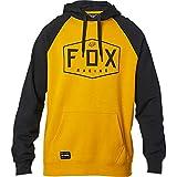 Fox Racing Men's Standard Crest Fleece Hoody,Large,Mustard