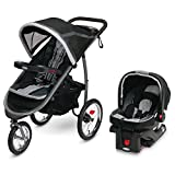 Graco FastAction Fold Jogger Travel System   Includes the FastAction Fold Jogging Stroller and SnugRide 35 Infant Car Seat, Gotham