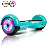 JOLEGE Hoverboard, 6.5' Two-Wheel Self Balancing Hoverboards - LED Light Wheel Scooter for Kids