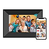 Dreamtimes Smart Digital Picture Frame 8 Inch WiFi Digital Photo Frame with IPS Touch Screen HD Display, 8GB Storage, Auto-Rotate, Easy Setup to Share Photos or Videos Remotely via AiMOR App (Black)