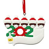 Yuelife 2020 Christmas Ornaments Party Decoration with Rope Creative Gift Product for Family Friends