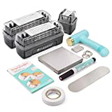 ImpressArt - Metal Stamping Kit, Tools & Supplies for Hand Stamping Craft Projects, DIY Jewelry Making & Keepsakes (Uppercase, Lowercase & Numbers)