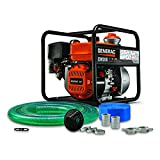 Generac G0077320 7732, 2 inch, Hose Kit Water Pump, Orange, Black
