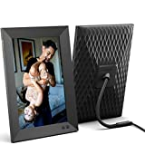 Nixplay 10.1 Inch Smart Digital Picture Frame, Share Video Clips and Photos Instantly via E-Mail or App (W10F)