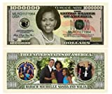 American Art Classics Pack of 5 - Michelle Obama - First Lady - First Family Million Dollar Bill