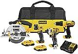 DEWALT 20V MAX Cordless Drill Combo Kit , 4-Tool (DCK466D2)