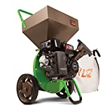 TAZZ 30520 Heavy Duty 212cc, 4 Cycle Viper Engine, 5-Year Warranty, 3' max Wood Diameter Capacity, Green