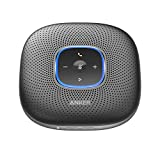 Anker PowerConf Bluetooth Speakerphone, 6 Mics, Enhanced Voice Pickup, 24H Call Time, Bluetooth 5, USB C, Zoom Certified Bluetooth Conference Speaker, Compatible with Leading Platforms For Home Office