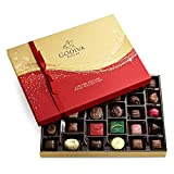 GODIVA Chocolatier Limited-Edition Holiday Assorted Chocolate Gift Box, 32-Ct., 11.8 ounce (pack of 1)