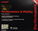 GNC Mega Men Performance & Vitality Vitapak Program 30 Paks - New