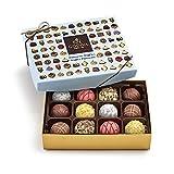 Godiva Chocolatier Assorted Chocolate Truffles Gift Box, 12-Pieces, 8 Ounce