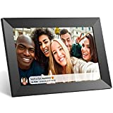 Anyuse Digital Picture Frame 10 inch WiFi 16GB Photo Frame with IPS HD Touch Screen, Share Photos or Videos via APP, Auto-Rotate, Wall Mountable, Portrait and Landscape