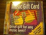 Music Gift Card Cd Sampler