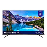 Hisense 65-Inch Class R8 Series Dolby Vision & Atmos 4K ULED Roku Smart TV with Alexa Compatibility and Voice Remote (65R8F, 2020 Model)