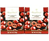 Harry and David, Milk Chocolate Bing Cherries, 8 ounces (Pack of 2), 16 oz. Total