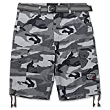 Ecko Unltd. Ripstop Cargo Shorts for Men, Big and Tall Shorts with Belt