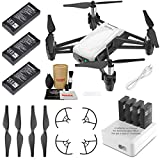 Tello Drone Quadcopter Elite Combo with 3 Batteries, 4 Port Charger and More
