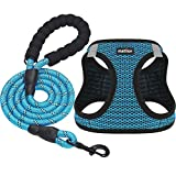 matilor Dog Harness Step-in Breathable Puppy Cat Dog Vest Harnesses for Small Medium Dogs
