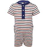 Janie and Jack Striped One Piece Bodysuit - 12-18 Months - White Stripe