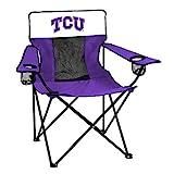 NCAA Logo Brands TCU Horned Frogs Elite Chair, Team Color
