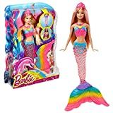 Barbie Doll Mermaid with Light-up Tail! [Amazon Exclusive] , Blonde