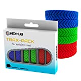 Hexnub Trax Pack for Anki Cozmo Remote Controlled Educational Stem Coding Robot Toy Accessory Three Awesome Color Treads Enhance Gameplay Add Traction Fits Charger Base