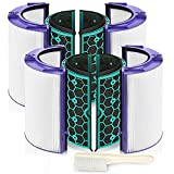 isinlive 2 Pack Hepa Filter Replacement for Dyson HP04 TP04 DP04 Air Purifier Sealed Two Stage 360¡ã Filter System Pure Cool Purifier Fan HEPA Filter & Activated Carbon Filter¡
