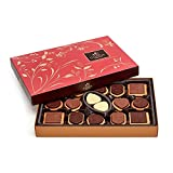 GODIVA Chocolatier Assorted Gift Box, Great for a Gift, Chocolate Cookie, Chocolate Covered Biscuit, 32, Chocolate Biscuit, 1 Count