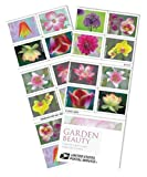 Garden Beauty 2021 USPS Forever Stamps Postage 1 Booklet 20 Stamps First-Class Letter Mail Self-Adhesive Self-Stick