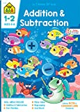 School Zone - Addition & Subtraction Workbook - 64 Pages, Ages 6 to 8, 1st & 2nd Grade Math, Place Value, Regrouping, Fact Tables, and More (School Zone I Know It! Workbook Series)