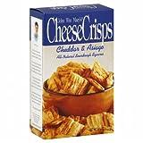 MACYS CHEESE CRISP ASIAGO CHDR-4.5 OZ -Pack of 8