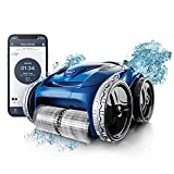 Polaris 9650IQ Sport Robotic Cleaner, Automatic Vacuum for InGround Pools up to 60ft, Smart App, WiFi, Amazon Alexa, 70ft Swivel Cable w/Strong Suction & Easy Acess Filter Canister, Multicolored