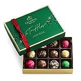 GODIVA Chocolatier Limited-Edition Holiday Truffle Assorted Chocolate Gift, Milk-Chocolate, 8.2 Ounce