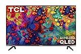 TCL 55' 6-Series 4K UHD Dolby Vision HDR QLED Roku Smart TV - 55R635