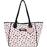 Juicy Couture Love Me Not Tote White/Ditsy Rpse One Size