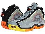 Fila Men's Grant Hill 2 Stitch Basketball Shoes Monument/Black/Red Orange 12