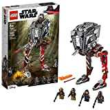 LEGO Star Wars at-ST Raider 75254 The Mandalorian Collectible All Terrain Scout Transport Walker Posable Building Model (540 Pieces)