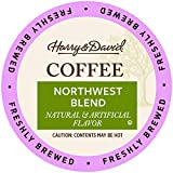 Harry & David Coffee in Single Serve Cups Compatible with Keurig K-Cup Brewers 18 Count (Northwest Blend)