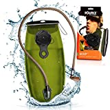 Source Hydration Bladder WXP - 3 Liter (100oz) Water Bladder with High Flow Storm Valve - Featuring All Hydration Technology Advantages