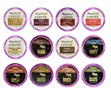 Harry & David and Moose Munch Single Serve Coffee Sampler, 12 Flavors (3 cups each)