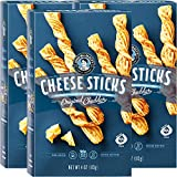 John Wm. Macy's CheeseSticks | Original Cheddar | Twice Baked Sourdough Crackers Made with 100% Real Aged Cheese, Non GMO, Nothing Artificial | 4 OZ. (3 Pack)