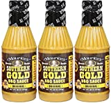 Maurice's Southern Gold BBQ Sauce, Original 18 oz (Pack of 3)