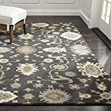 Crate and Barrel Juno Gray Traditional Persian Handmade 100% Wool Rugs & Carpets (8'x10')