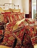 Sherry Kline China Art Red 6-Piece King Comforter Set
