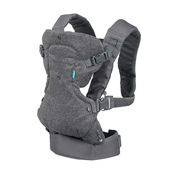 Infantino Flip 4 In 1 Convertible Carrier Best Affordable Soft Structured Baby Carrier Black Friday Deals